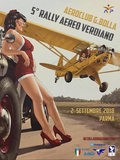 quinto rally aereo verdiano